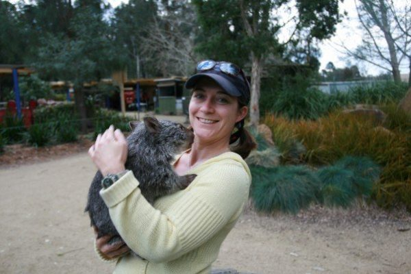wombat-filming